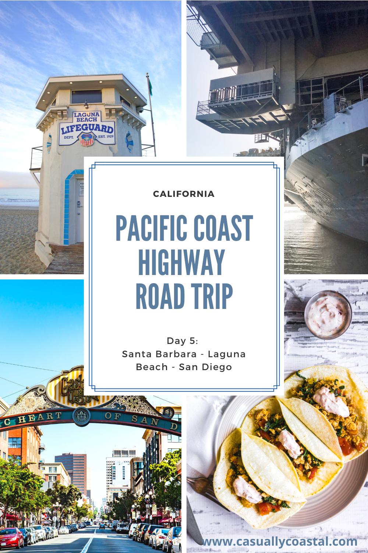 California Road Trip: Day 5 in Laguna Beach & San Diego