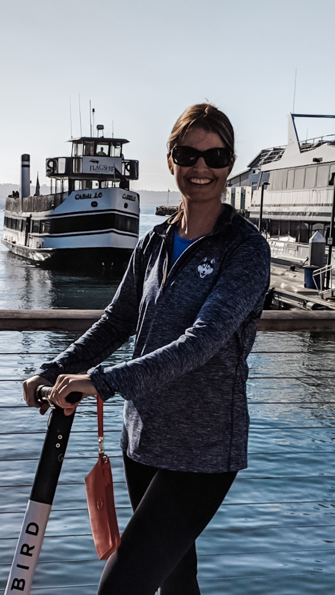 Every road trip to southern California should include riding scooters on the San Diego Bay Walk. It was so much fun!