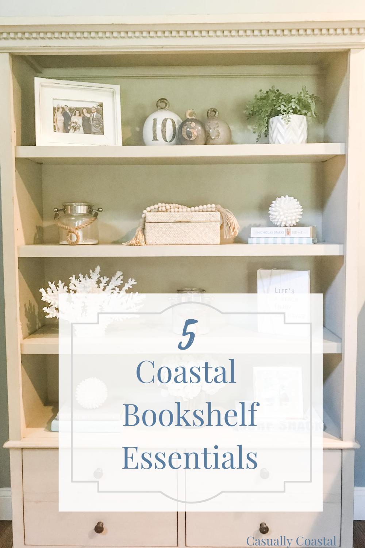 Five Coastal Bookshelf Essentials