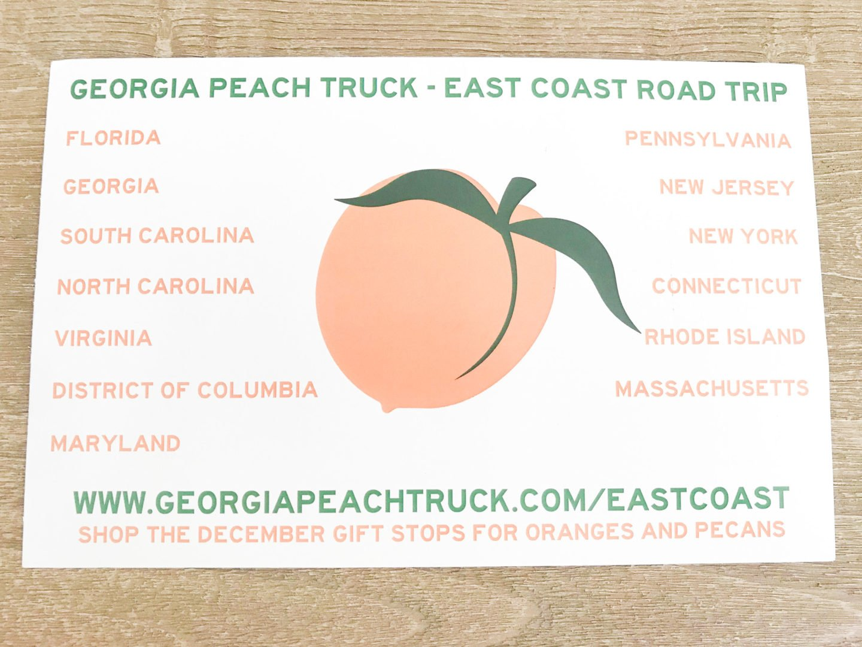 Georgia Peach Truck's East Coast Road Trip