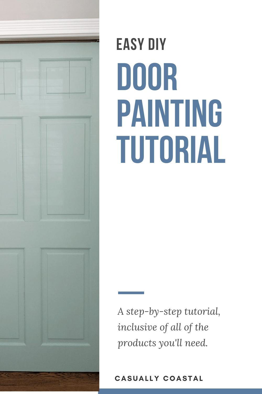 Brighten Your Home Using This Door Painting Tutorial