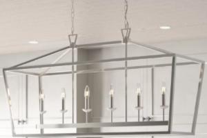 Carmen 6-Light Kitchen Island Linear Pendant