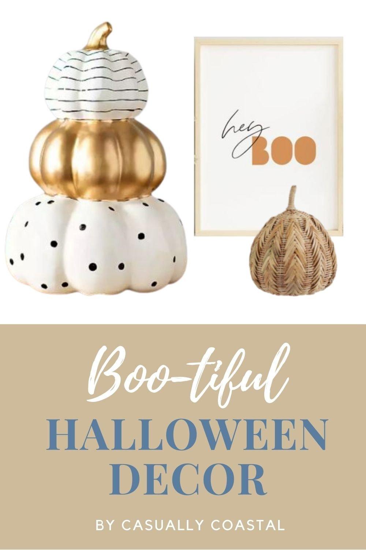 Halloween Decor Doesn't Always Have to Be Orange & Black!