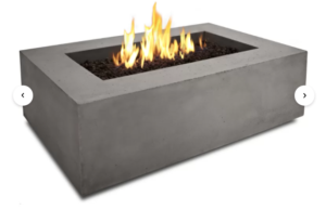 Baltic Concrete Propane Fire Pit Table