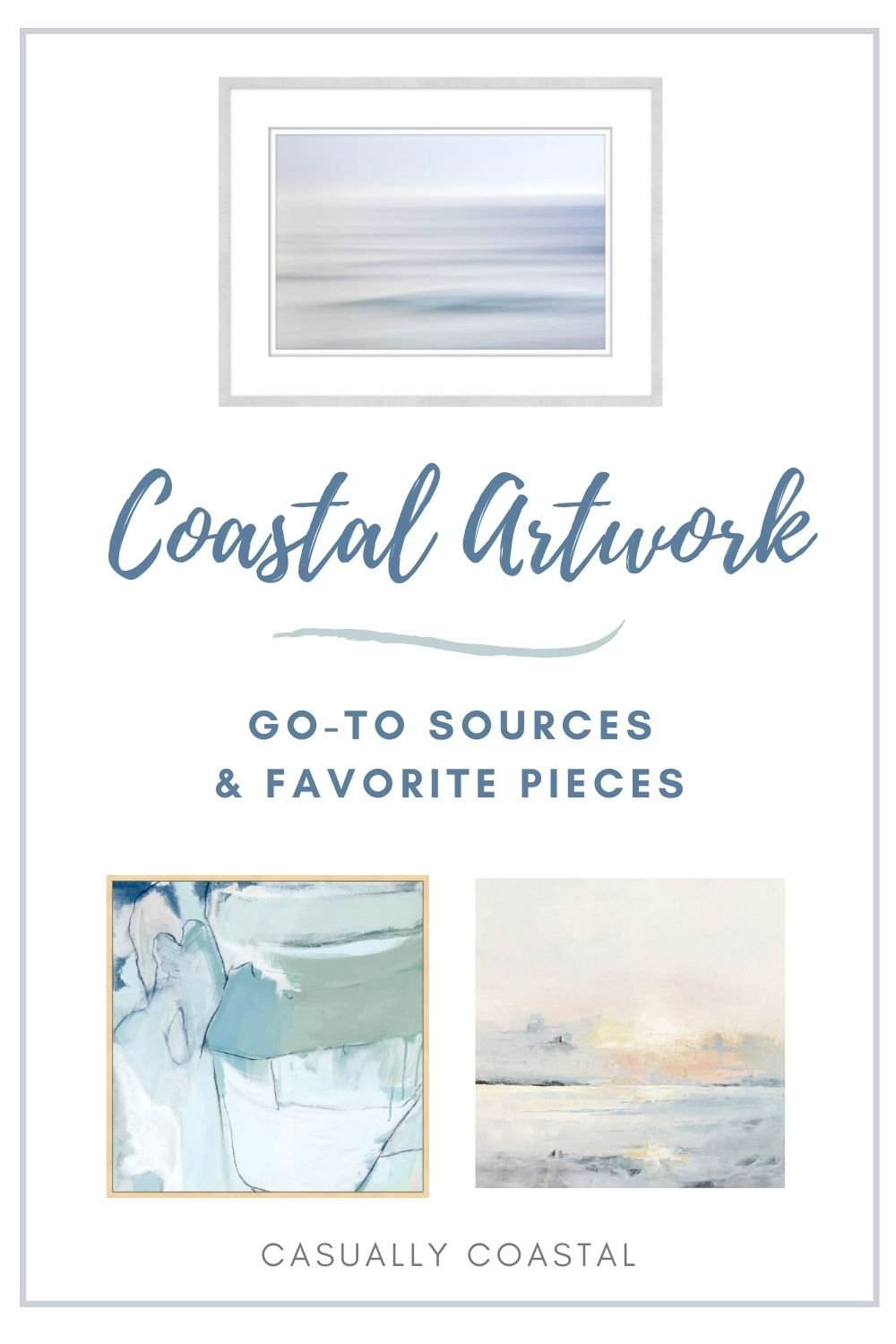 Where To Buy Coastal Artwork, Plus My Favorite Pieces