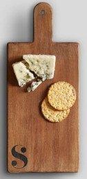 Alphabet Mango Wood Cheese Board