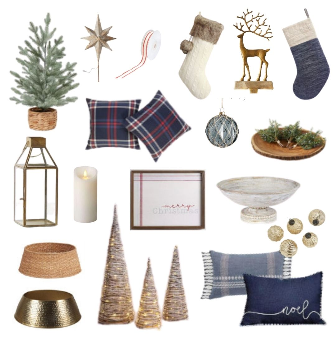 A sampling of what to buy for Christmas decorations