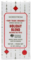 Coffee Holiday Blend Fair Trade Organic Whole Bean Coffee